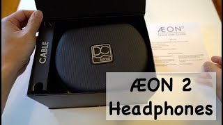 Dan Clark Audio Aeon 2 Open-Back Headphones Unboxing