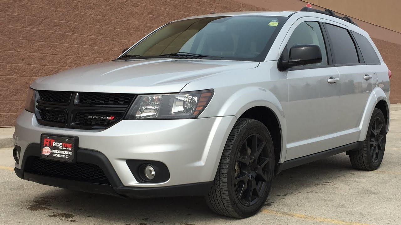 2012 Dodge Journey Sxt >> 2014 Dodge Journey SXT BLACKTOP Edition - Black Alloy Wheels & Grille | HUGE VALUE - YouTube