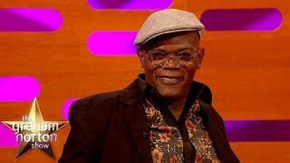 Samuel L Jackson REALLY Loves Selfies - The Graham Norton Show