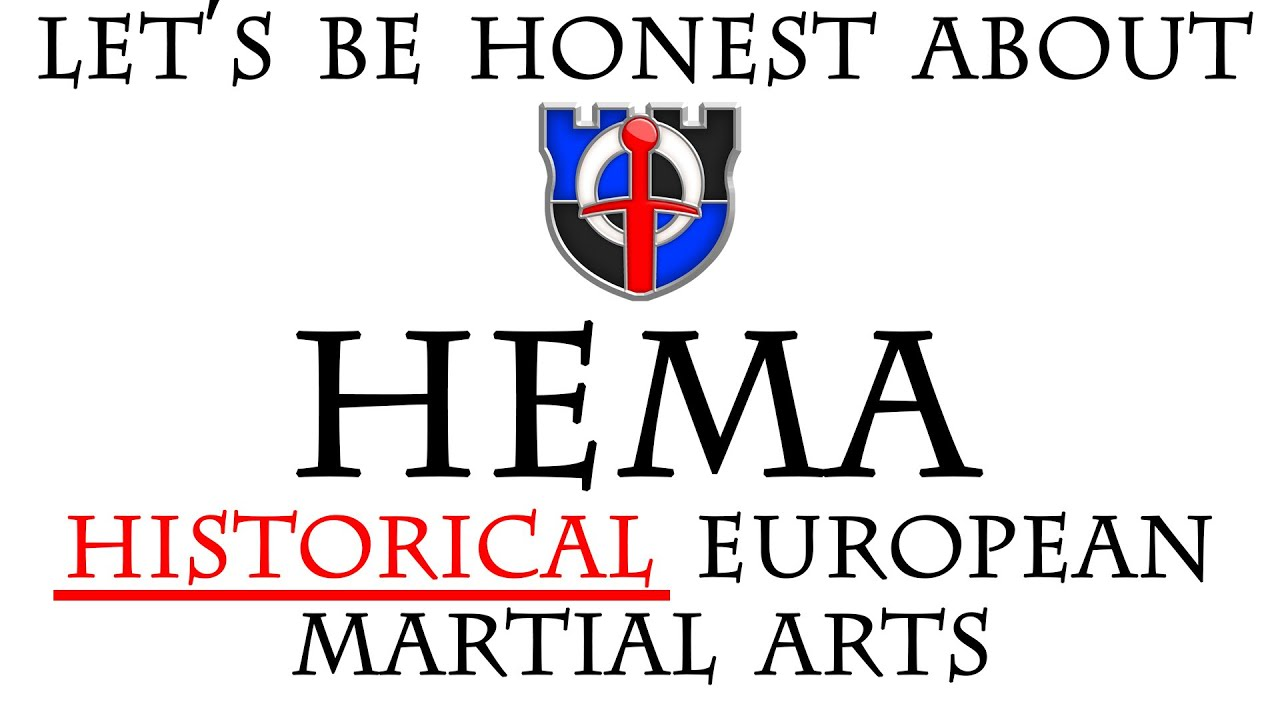 """Let's be honest about HEMA - """"Historical European Martial Arts"""" and what it should mean and allow."""
