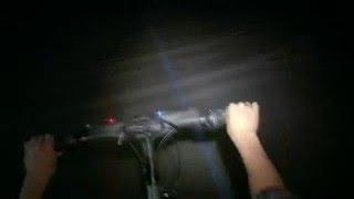 Activision: Bike Hero - Guitar Hero World Tour on a bike
