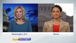 President Trump Arrives in Rome-ENN 2017-05-23