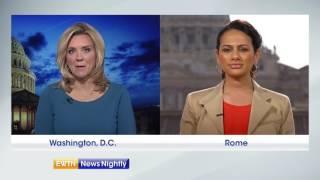 President Trump Arrives in Rome-ENN 2017-05-23