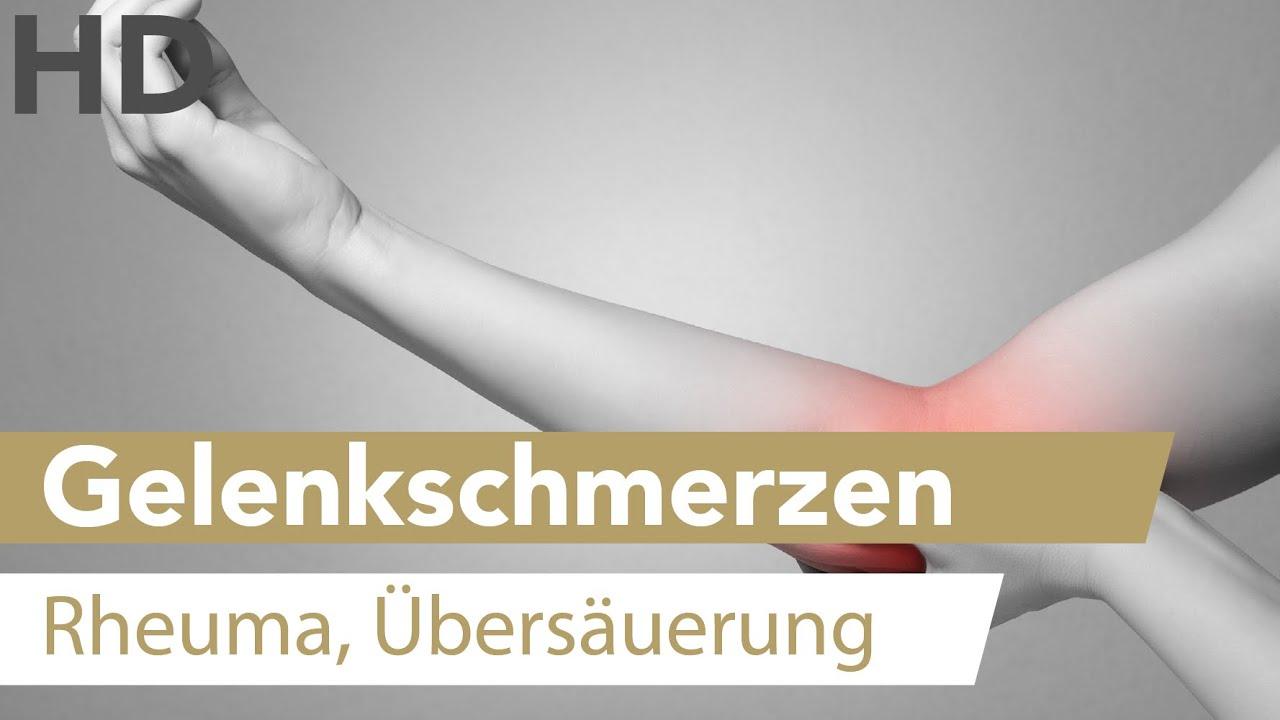 Gelenkschmerzen // Schmerzen in Gelenken, Rheuma, Übersäuerung