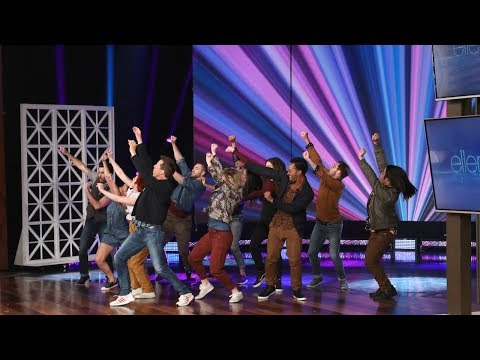Sean Hayes Kicks Off the Show with an Amazing Dance