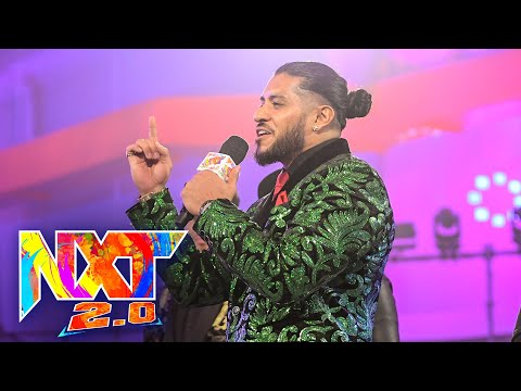 Santos Escobar Is Far From Done With Carmelo Hayes: WWE NXT, Oct. 19, 2021