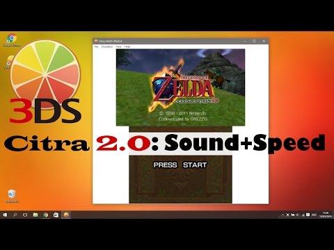 Citra 3DS emulator update: Add sound + Improve speed (Tutorial)