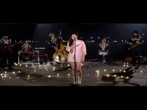 Kacey Musgraves sings CRAZY