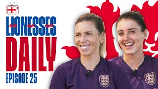 Beckham, Sailing to Holland & Phil's Haircut! | Carly Telford & Jade Moore | Lionesses Daily Ep. 25