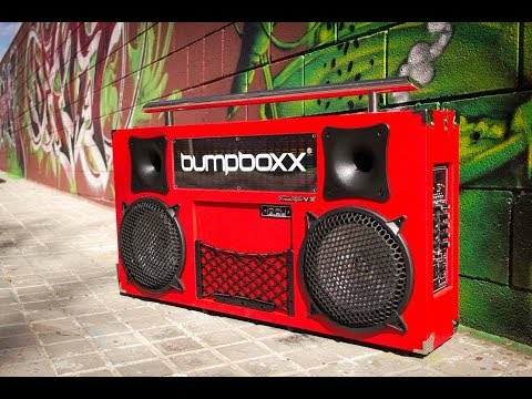This Jumbo-sized Boombox Takes Us Back to the '80s