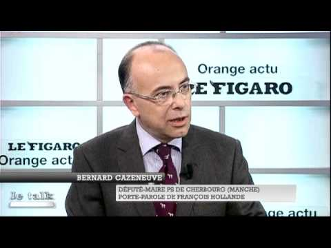 Le Talk : Bernard Cazeneuve - Le Figaro