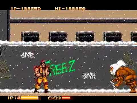 Two Crude Dudes (Mega Drive) - Detonado by Zanholo