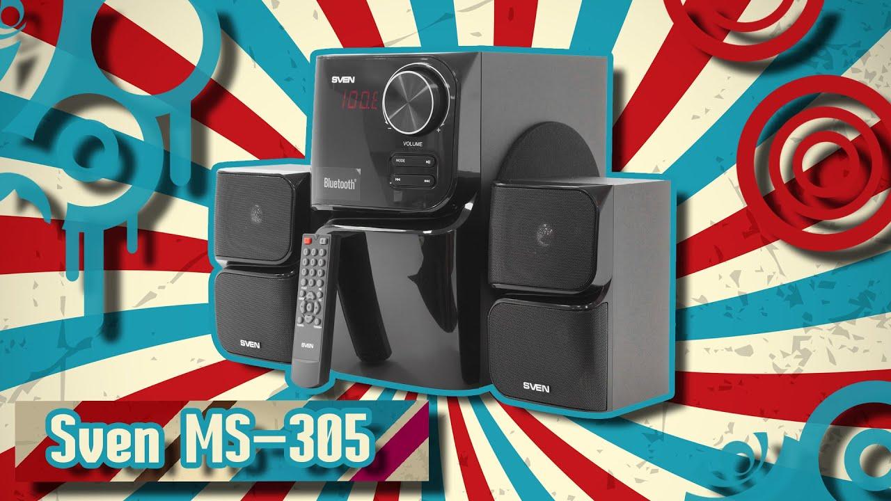Купить недорого колонки sven ms-302, черный в интернет-магазине ситилинк. Характеристики, отзывы, фотографии, цена на колонки sven.