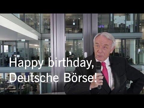25 years Deutsche Börse AG – Manfred Zaß