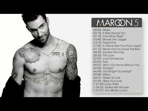 The Best Songs Of Maroon5 (Maroon5 Greatest Hits)
