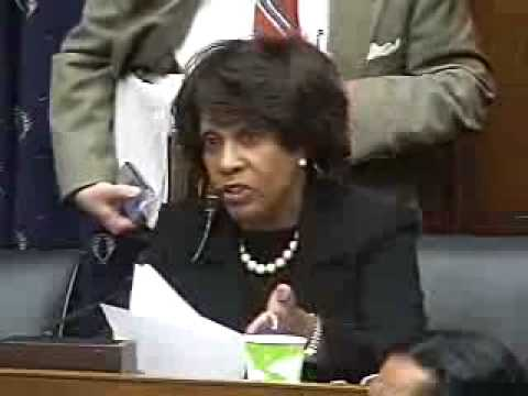 Waters: We Gave You The Authority to Mitigate Foreclosures