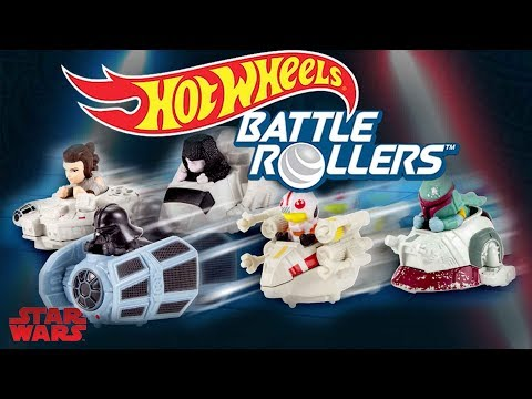 AWESOME NEW STAR WARS TOYS 2018  BATTLE ROLLERS  Hot Wheels