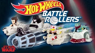 AWESOME NEW STAR WARS TOYS 2018 | BATTLE ROLLERS | Hot Wheels