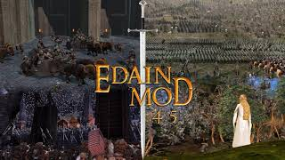 Edain Mod 4.5 Beta Livestream (English Commentary)