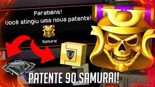 WARFACE: Upando Para Patente 90 Samurai + Warbox