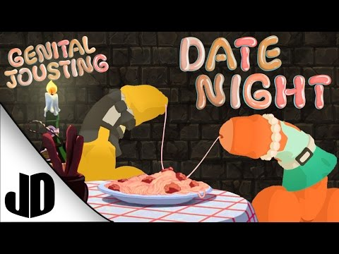 Let's Play Genital Jousting | Date Night | PUCKER UP!