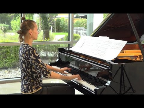 Anna Sutyagina plays Before the silence will die by  Tomasz Kowalczyk