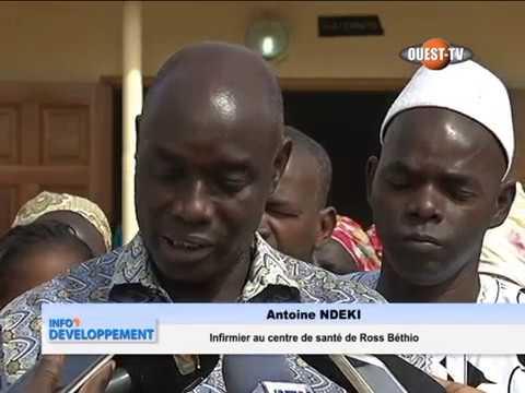 Ouest TV: Visite officielle du Directeur régional de l'UNFPA au Sénégal