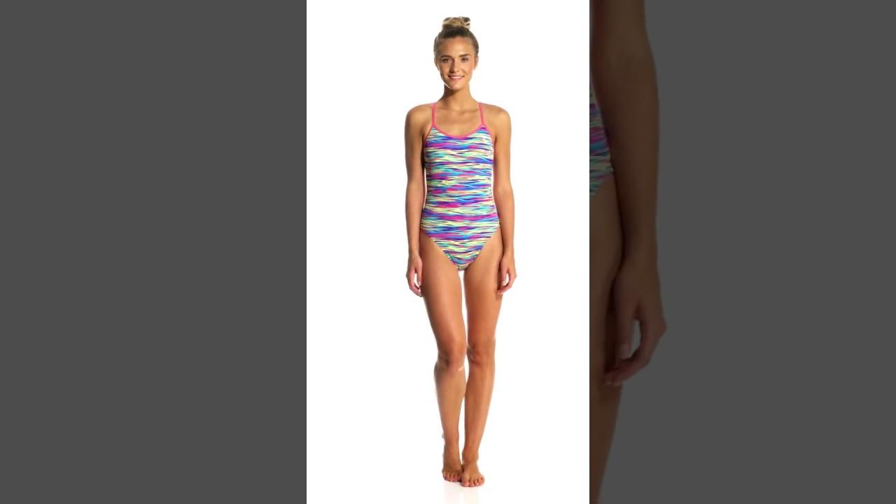 e9d8031df5 TYR Women's Bonzai Trinityfit One Piece Swimsuit | SwimOutlet.com ...