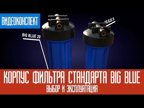 Корпус фильтра стандарта Big Blue: выбор и эксплуатация /Big Blue 10/Big Blue 20/