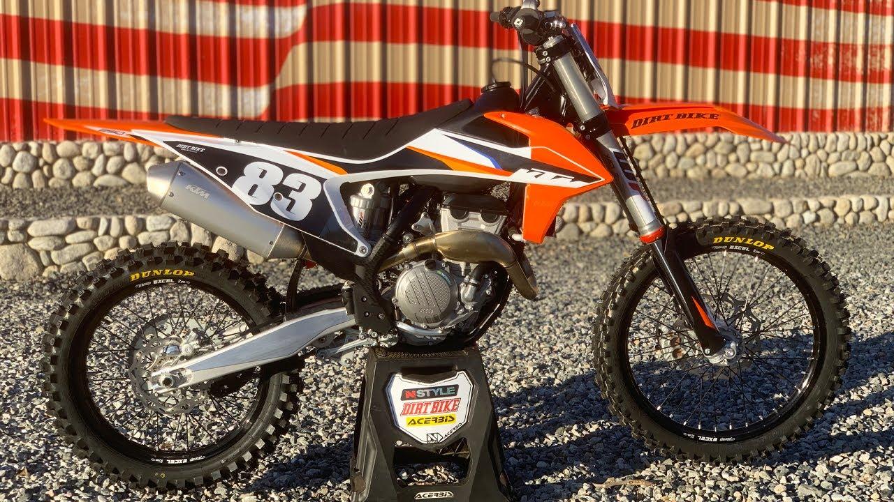 2021 KTM 250SXF - Dirt Bike Magazine
