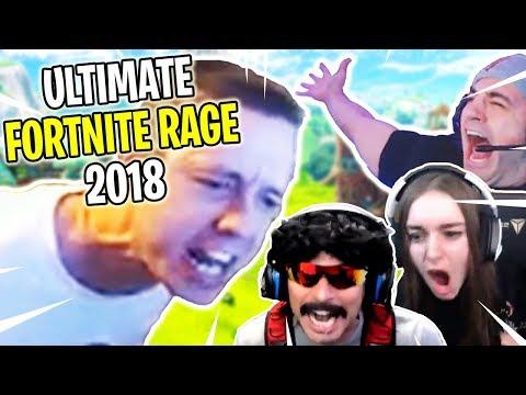 ULTIMATE Fortnite RAGES of 2018 Compilation!
