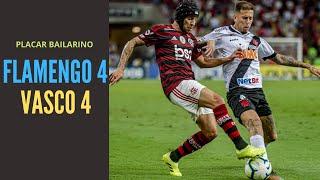 Flamengo mal, Vasco jogando uma