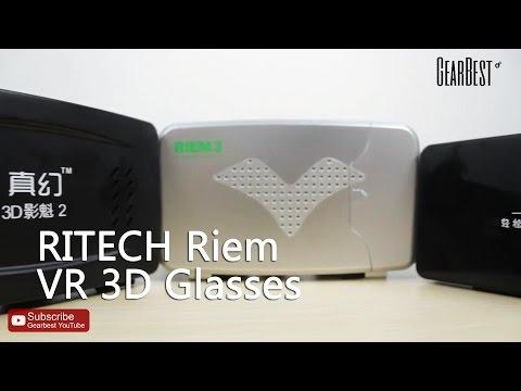 Gearbest Review: RITECH Riem III VR 3D Glasses & Comparison Reivew - Gearbest.com