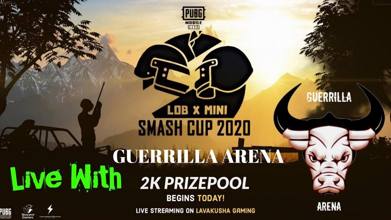 #LIVE LOB X mini Smash SEMI Final #PUBG LITE