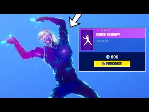 Dance Therapy Is COOL! Fortnite ITEM SHOP [August 29] | Kodak WK