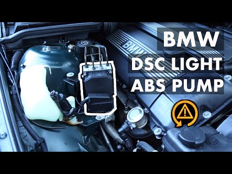 BMW DSC Light ABS Precharge Pump Code 88