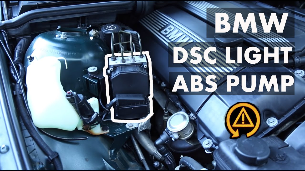 small resolution of bmw dsc light abs precharge pump code 88