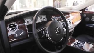 Прокат автомобилей в москве Rolls Royce / роллс ройс гост белый