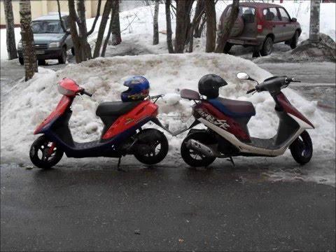 Ремонт скутера HONDA DIO AF 27