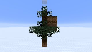 [Info] Changes About Spruce Tree Growth In 1.15