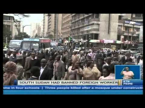 SOUTH SUDAN JOBS DILEMMA: South Sudan to regulate employment of foreign workers