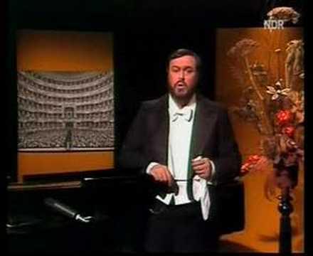 in memoriam: Pavarotti in recital 1978