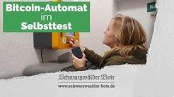 Bitcoin-Automat im Selbsttest