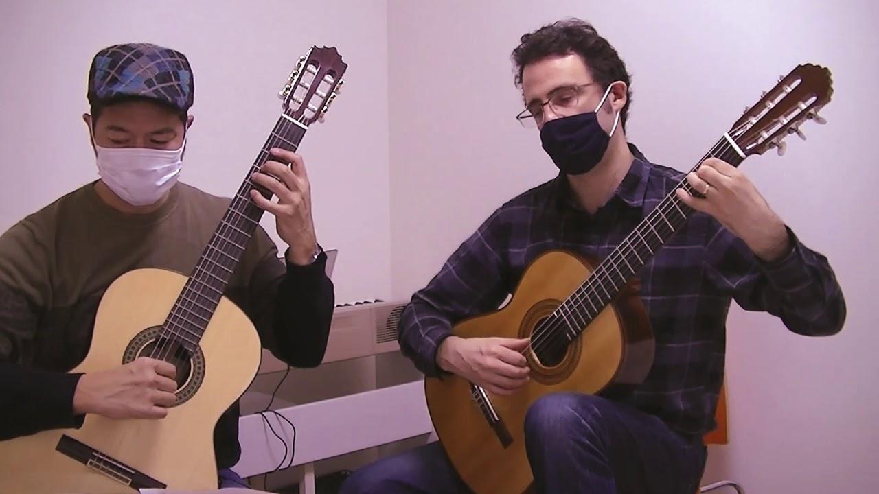 "Hiroshi & Carl play ""Milonga"""