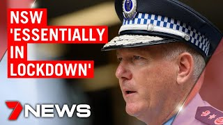 Coronavirus: Nsw 'essentially In Lockdown'   7news