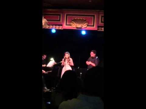 """Mavis Simpson-Ernst singing """"You've Got Possibilities"""" at The Triad NYC"""
