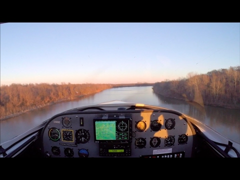 Flying the River - Northeast Oklahoma in the Arion Lightning