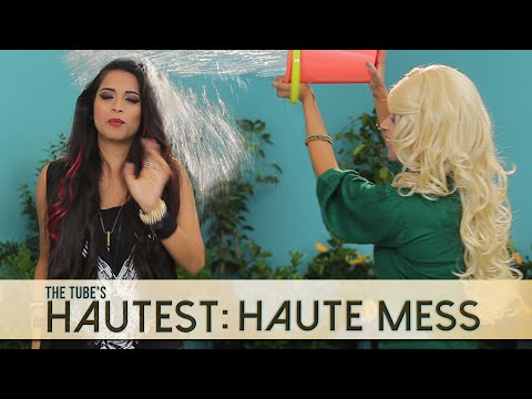 Haute Mess: Zee's Ice Bucket Challenge | The Tube's Hautest // I love makeup.