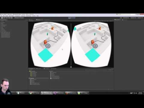 THE MAZE: Unity VR Samples for Google Cardboard