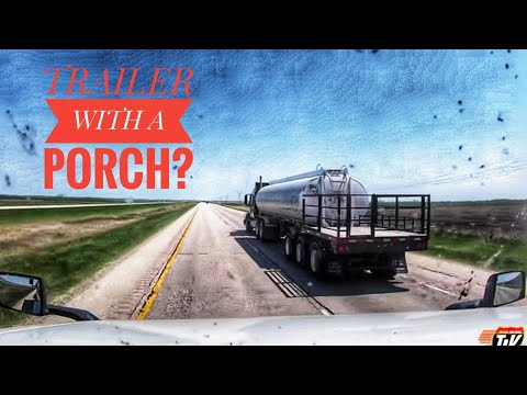 My Trucking Life   TRAILER WITH A PORCH   #1727